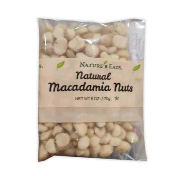 Nature's Eats, Natural Macadamia Nuts, 6 OZ
