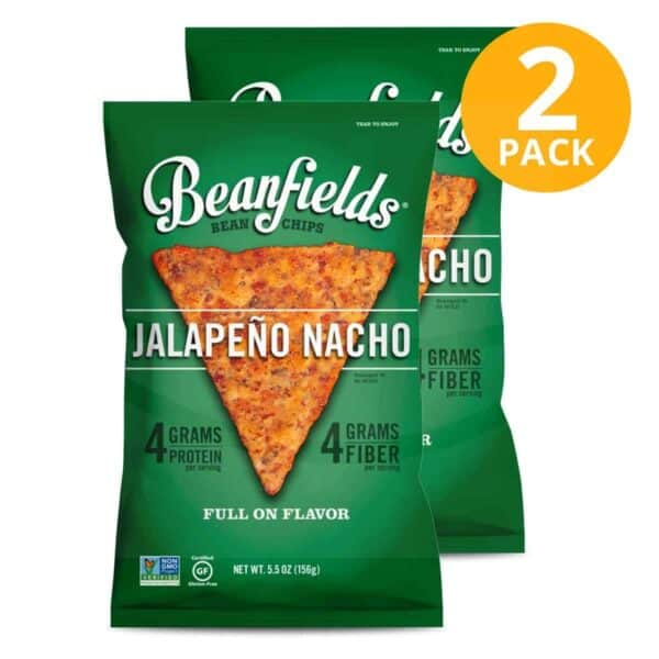 Beanfields, Jalapeño Nacho, 5.5 OZ (Pack de 2)