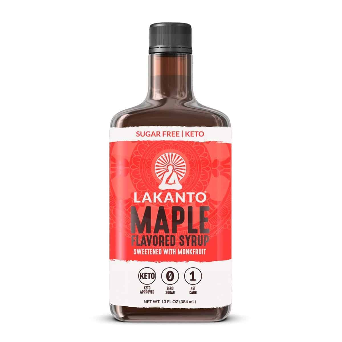 Lakanto, Maple Flavored Syrup, 13 OZ