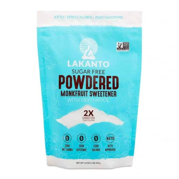 Lakanto, Powdered Monkfruit Sweetener, 16 OZ