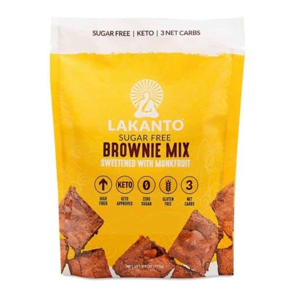Lakanto, Brownie Mix, Sugar Free 275 gr