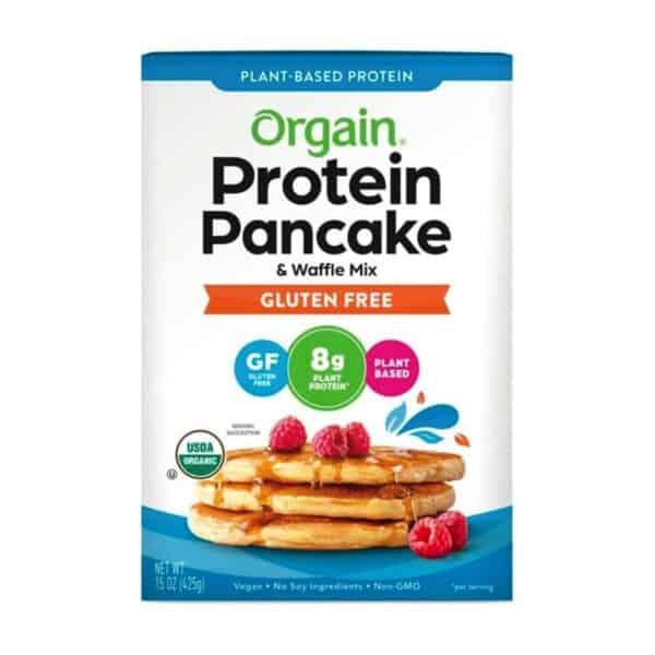 Organic Plant-Based Protein Pancake & Waffle Mix, Gluten Free, 15 OZ