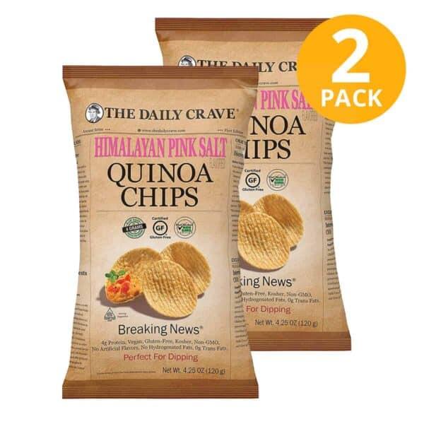 The Daily Crave, Quinoa Chips, 4.25 OZ (Pack de 2)