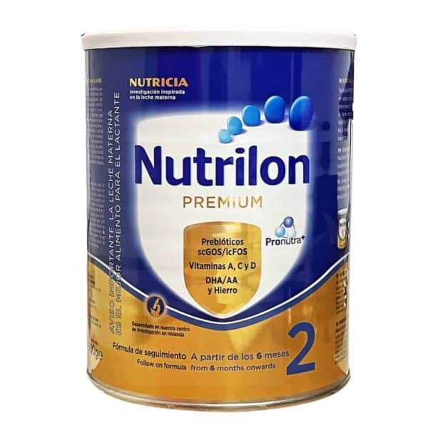 Nutrilon Premium 2, Fórmula Infantil, 900 gr
