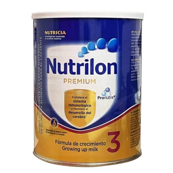 Nutrilon Premium 3, Fórmula Infantil, 900 gr