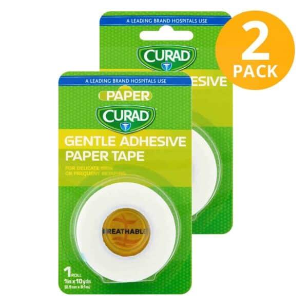 Curad Adhesive Tape for Sensitive Skin (Pack de 2)