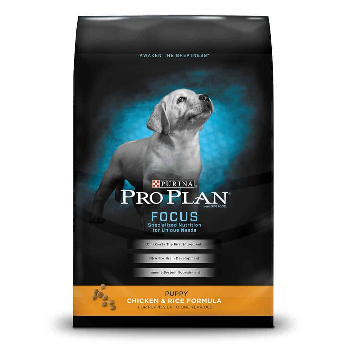Purina Pro Plan Focus Puppy Chicken & Rice, 18 lb