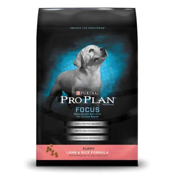 Purina Pro Plan Focus Puppy Lamb & Rice, 18 lb