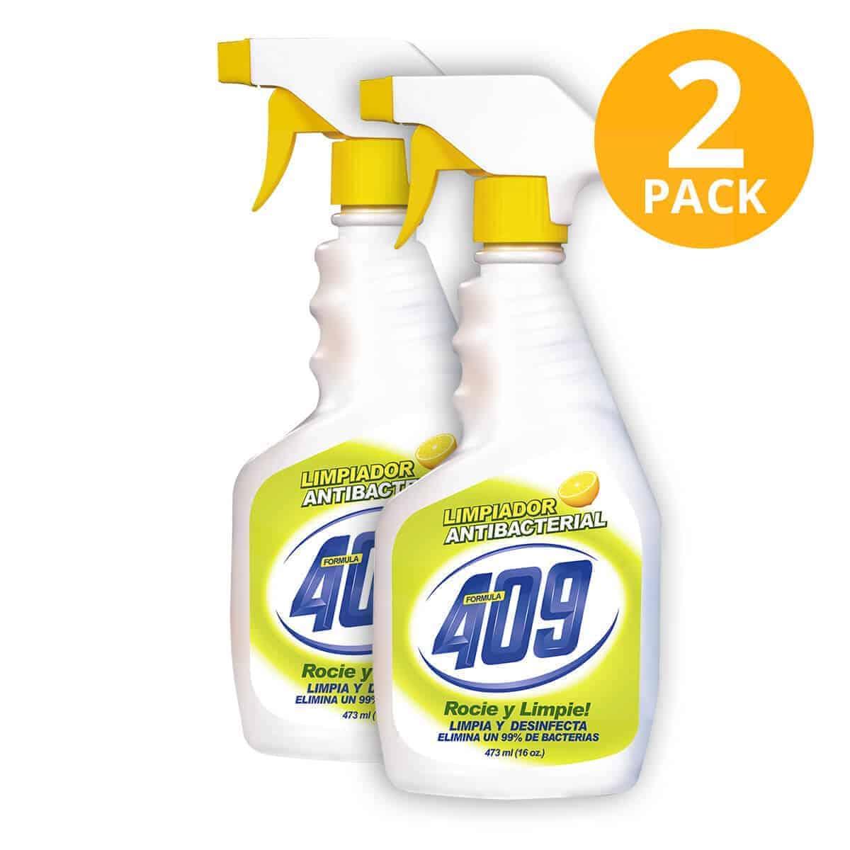 Limpiador 409 Antibacterial Bactilimon, 32 OZ (Pack de 2)