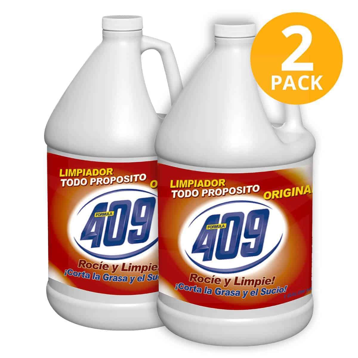 Limpiador 409 Regular Todo Propósito, 1 Galón (Pack de 2)