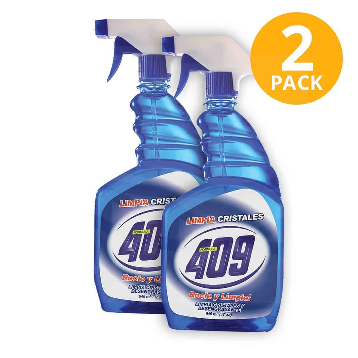 Limpiador 409 Limpia Cristales y Ventanas, 32 OZ (Pack de 2)