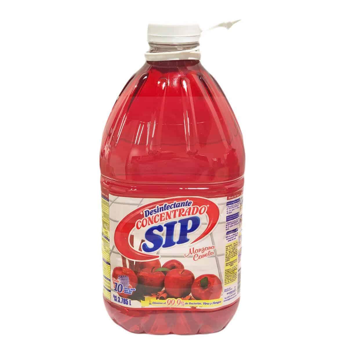 Desinfectante SIP Concentrado Multiuso Apple Spice, 1 Galón