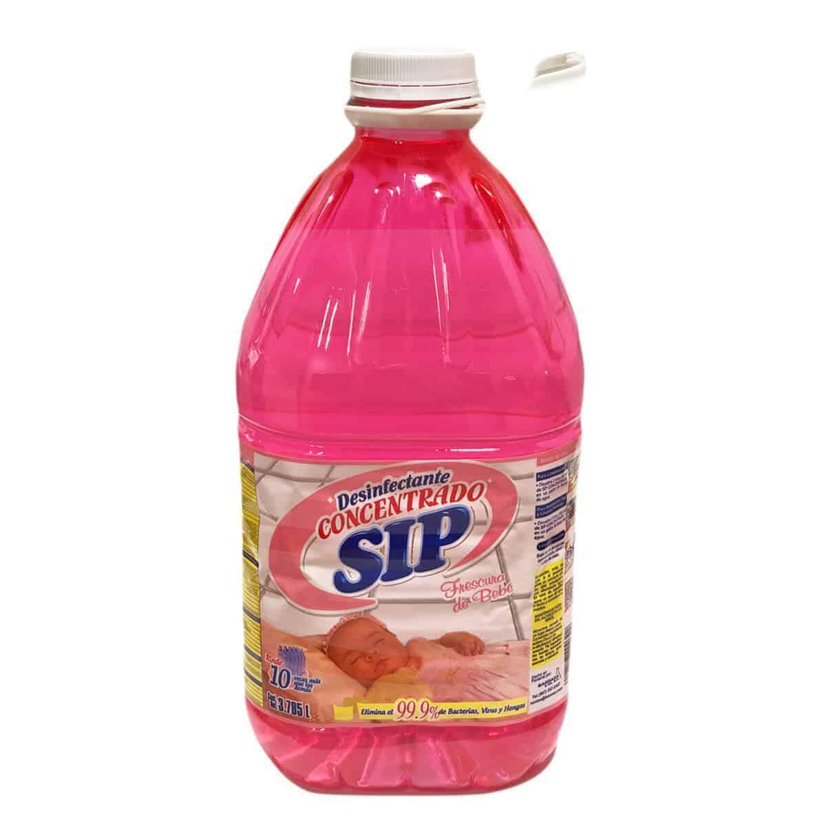 Desinfectante SIP Concentrado Multiuso Frescura de Bebé, 1 Galón