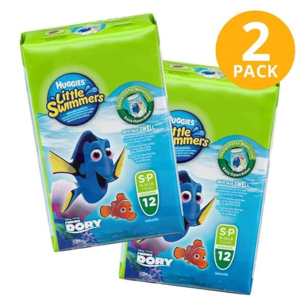 Huggies Little Swimmers S, 12 Pañales para Agua