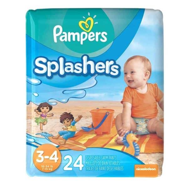 Pampers Splashers talla 3-4 Bolsa 6/24 pañales