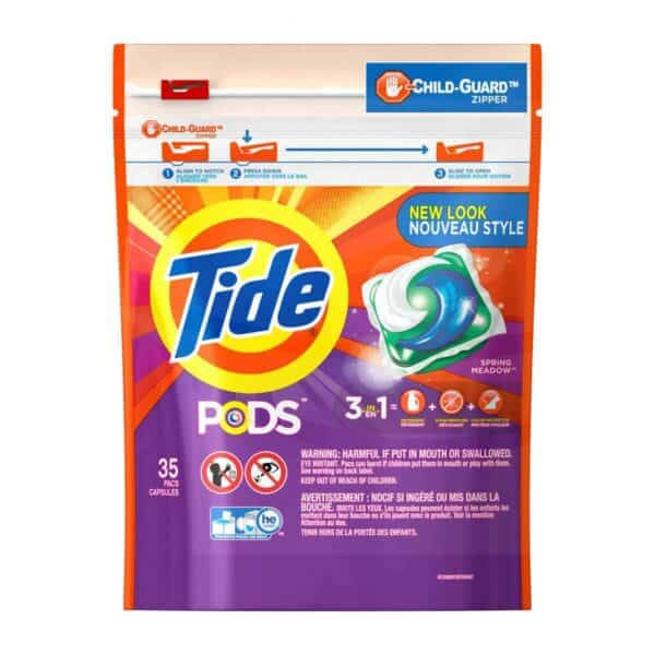 Tide Pods Spring Meadows 4/35 ct