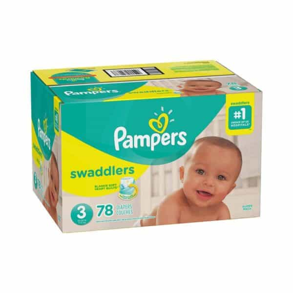 PAMPERS SWADDLERS TALLA 3 CAJA 1/78