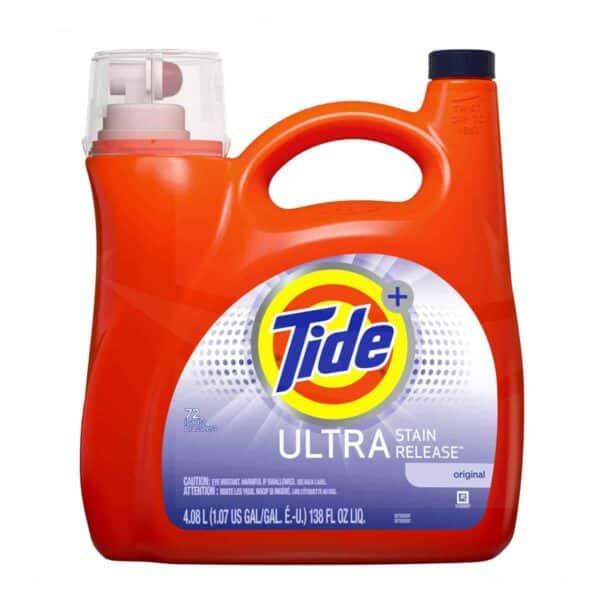 Tide Liquido Ultra Stain Release 4/138 oz