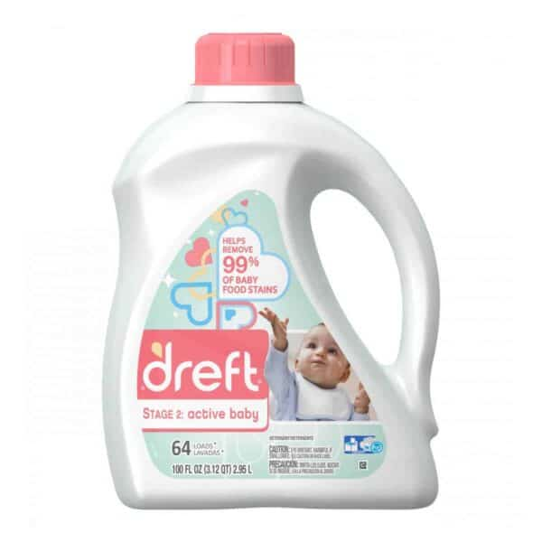 Dreft Liquido Active Baby 4/100 oz