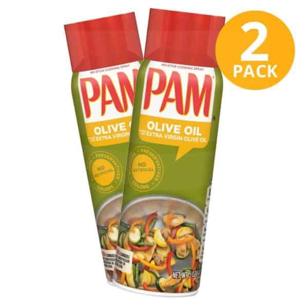 PAM Olive Oil, Aceite de Oliva, 5 OZ (Pack de 2)