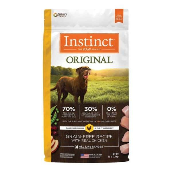 Instinct Original Grain Free Chicken, 4.0 lb (1.8 kg)