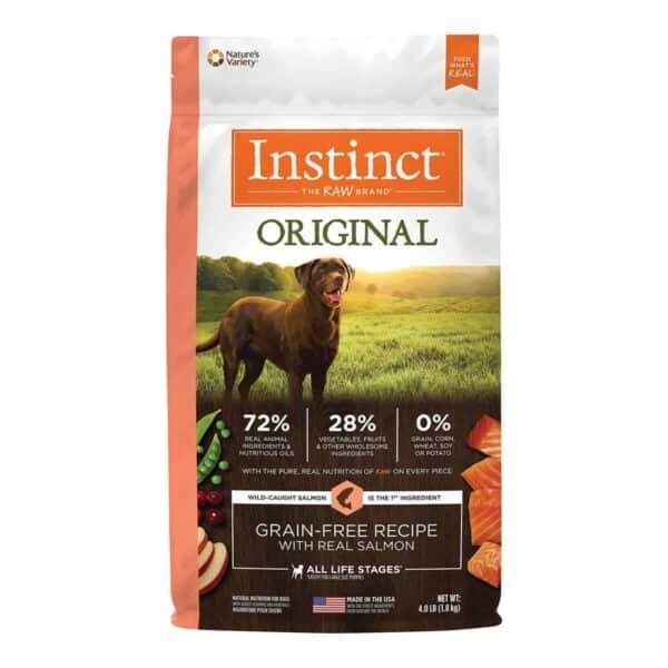 Instinct Original Grain Free Salmon, 4.0 lb (1.8 kg)