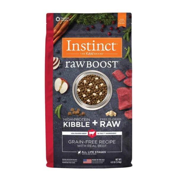 Instinct Raw Boost Grain Free Beef, 4.0 lb (1.8 kg)