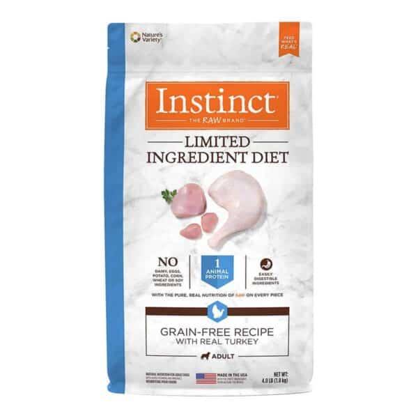 Instinct Limited Ingredient Diet Grain Free Turkey, 4.0 lb (1.8 kg)