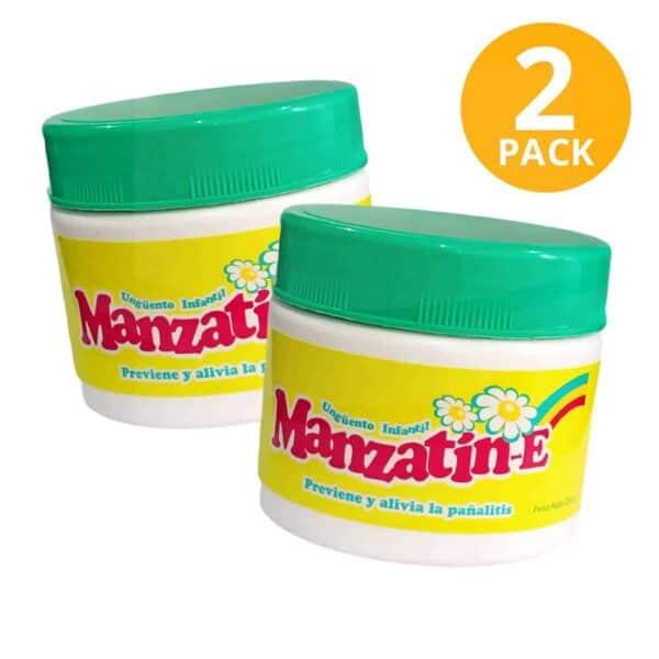 Manzatín E Ungüento Infantil, 235 gr (Pack de 2)