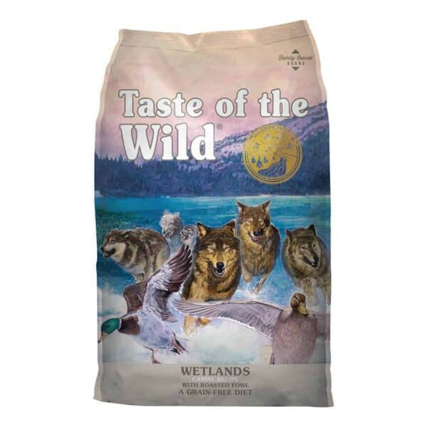 Taste of the Wild Wetlands with Wild Fowl, 2 kg (4.41 lb)