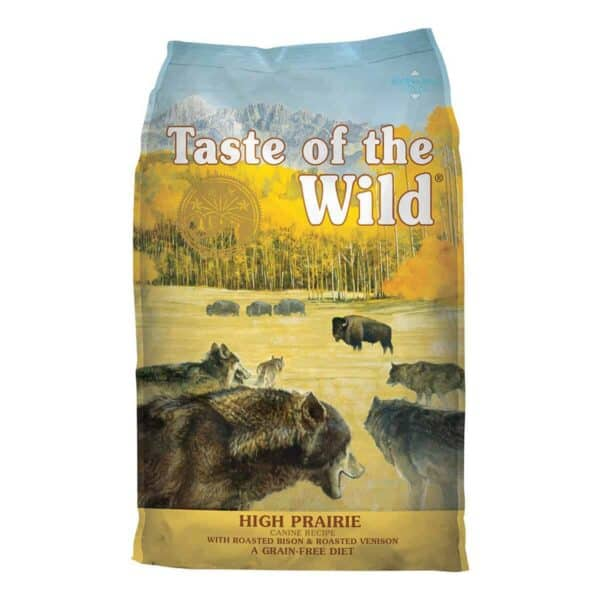 Taste of the Wild High Prairie with Bison and Roasted Venison, 13 kg (28.67 lb)