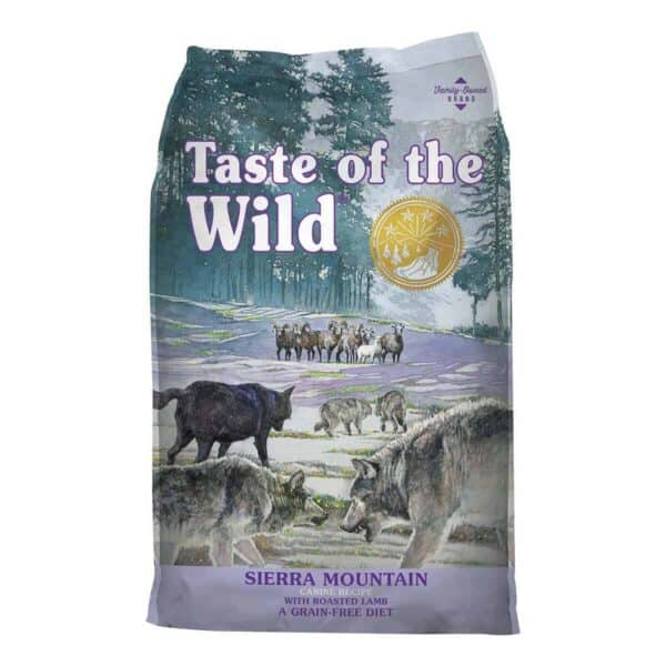 Taste of the Wild Sierra Mountain with Roasted Lamb, 2 kg (4.41 lb)