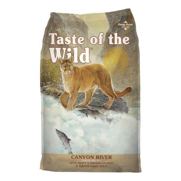 Taste of the Wild Canyon River Feline with Trout and Smoked Salmon, 2 kg (4.41 lb)