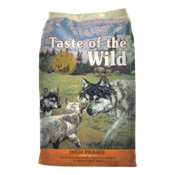 Taste of the Wild High Prairie Puppy with Bison and Roasted Venison, 6 kg (13.23 lb)