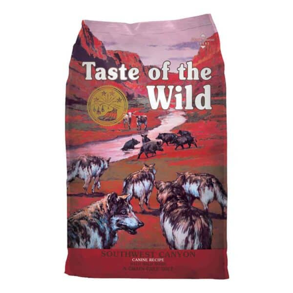 Taste of the Wild Southwest Canyon with Wild Boar, 2 kg (4.41 lb)