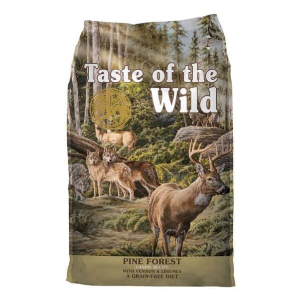 Taste of the Wild Pine Forest with Venison and Legumes, 6 kg (13.23 lb)