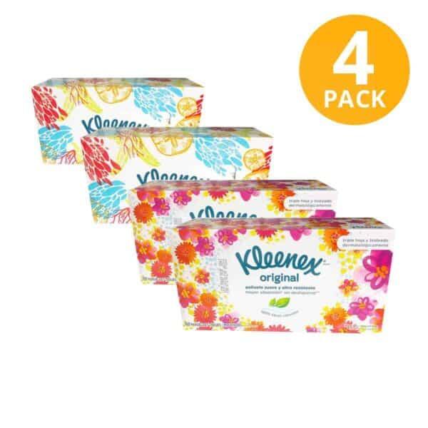 Kleenex Gigante (Pack de 4 x 100)