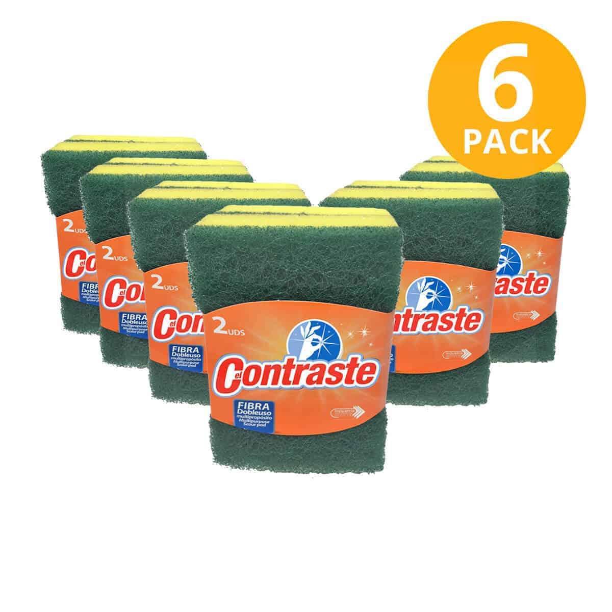 Fibra antibacterial doble uso funda 2 pack