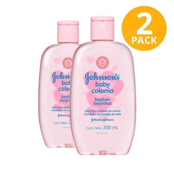 Colonia Besitos Johnson's Baby, 200 ml (Pack de 2)