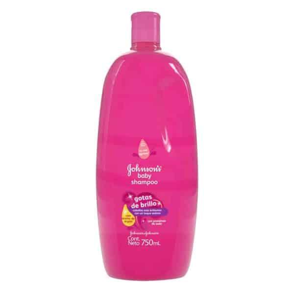 ShampooGotas de BrilloJohnson's Baby, 750 ml