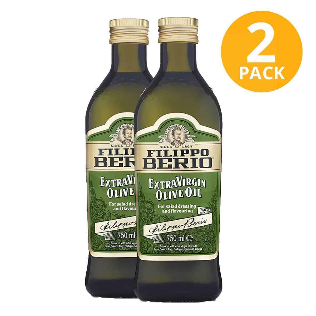 Filippo Berio Aceite de Oliva Extra Virgen, 750 ml (Pack de 2)
