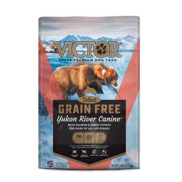 Victor Grain Free  Yukon River Salmon & Sweet Potato, 5 lb (2.2 kg)