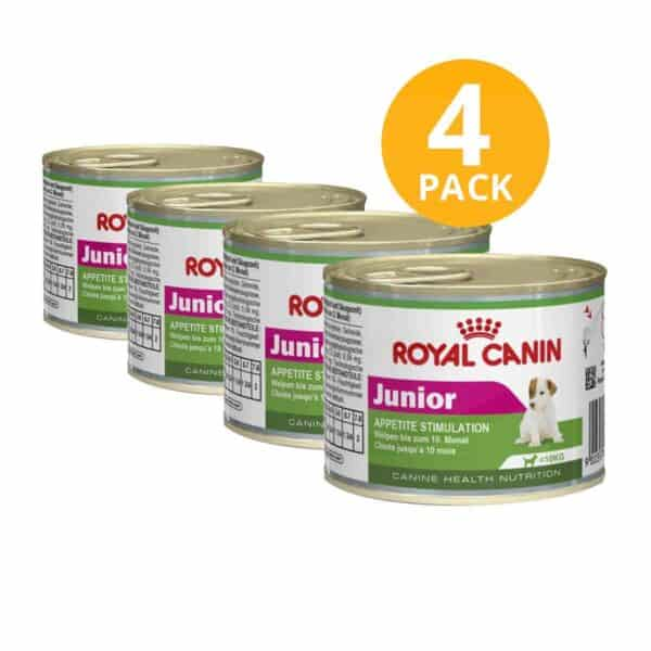 Royal Canin Puppy Appetite Stimulation, 195 gr (Pack de 4)
